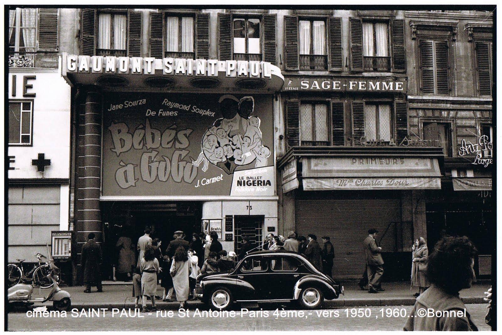 Cafe Theatre Paris  Juillet