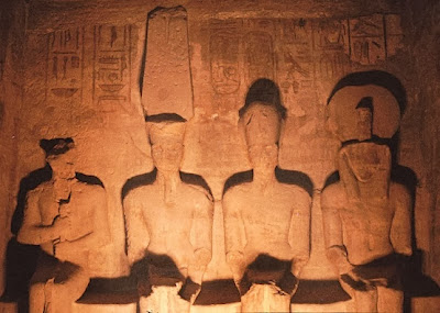 Solar phenomenon lights up Abu Simbel