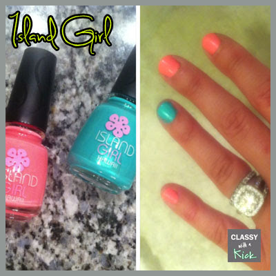 Classy with a Kick: Island Girl Nails
