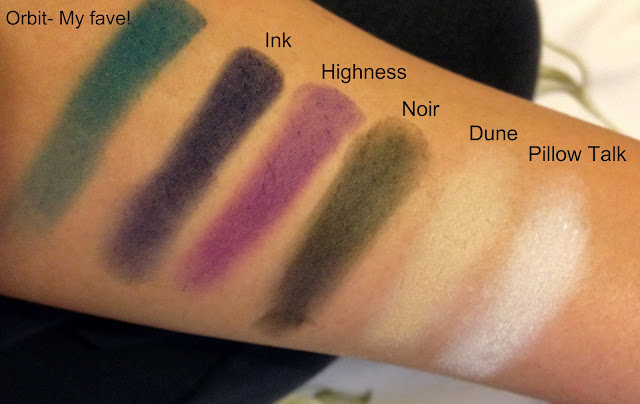 Sleek darks matte palette eyeshadow swatches pigmentation