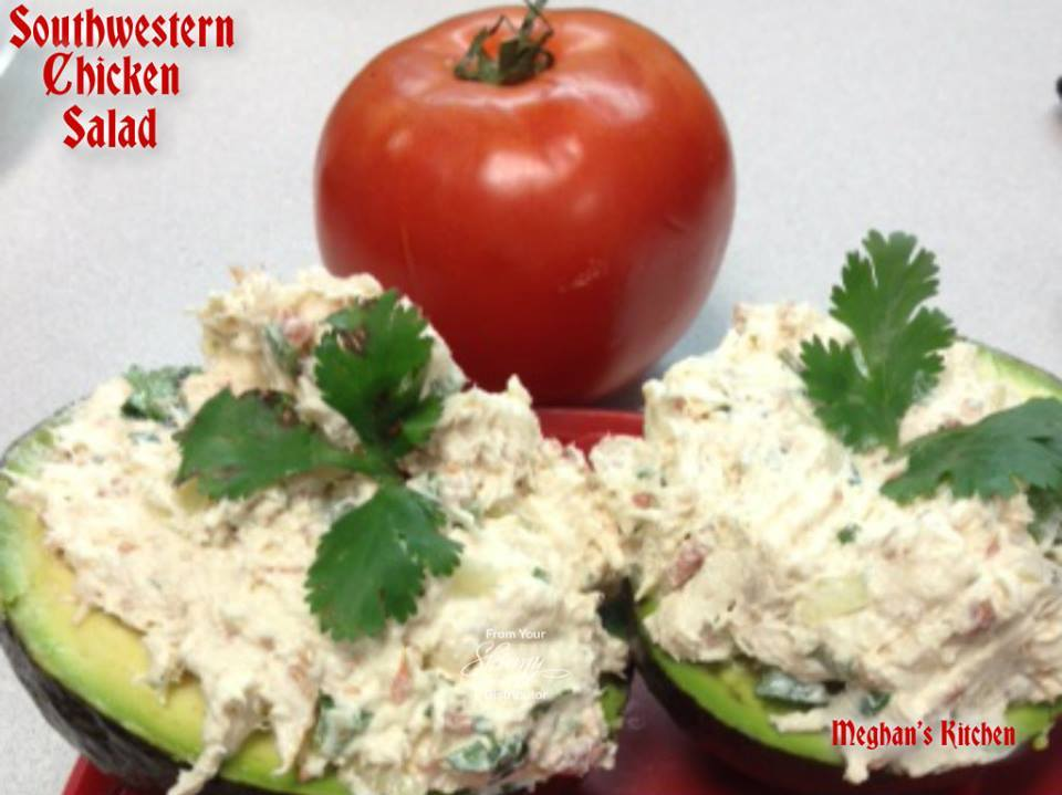 southwestern chicken salad 2 chicken breast cooked and shredded 8 oz ...
