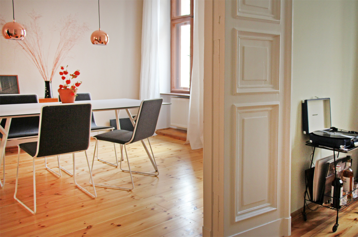 Anneliwest berlin interior projekt eine wohnung in for Wohnung interior