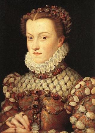 Francois Clouet Elizabeth of Austria