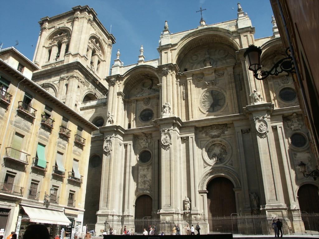 Las tres granadas catedral de granada i seg n silo for Arquitectura granada