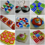 FUSED GLASS ON FOLKSY