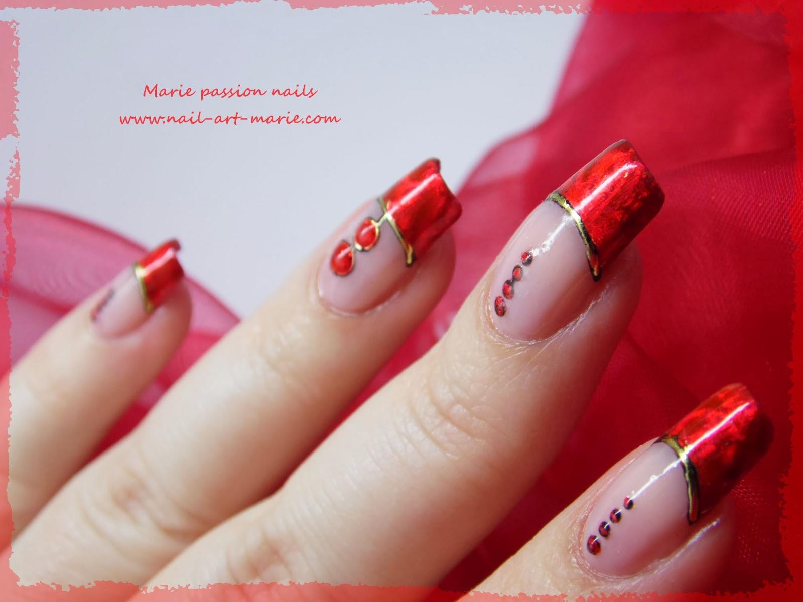 Nail art Saint Valentin4