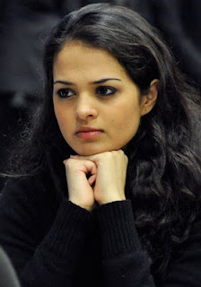 Glamorous Chess Player Tania Sachdev