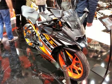 gambar motor KTM RC200