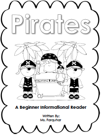 https://www.teacherspayteachers.com/Product/Pirate-Beginner-Reader-878532