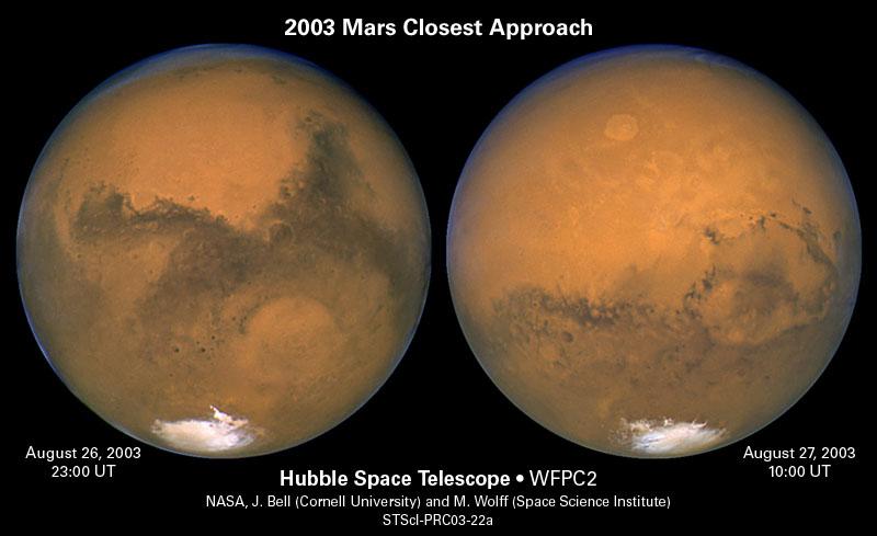 Los polos de Marte