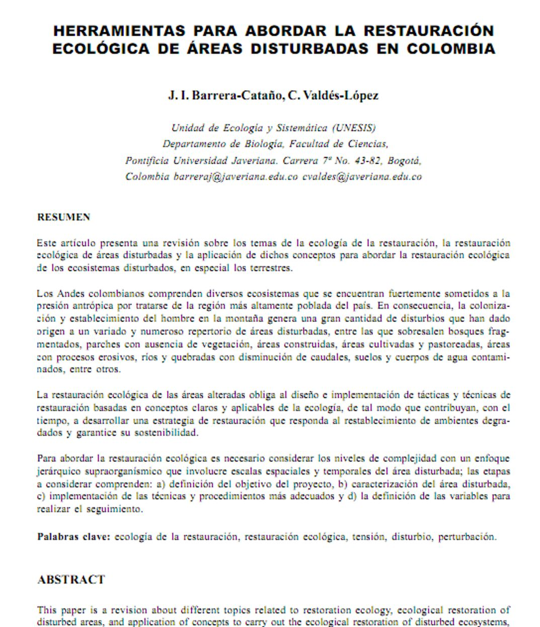 INGENIERIA FORESTAL: Documento Herramientas para abordar la ...
