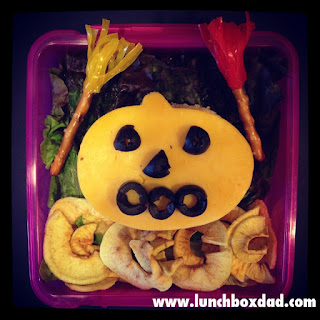 kids halloween lunch