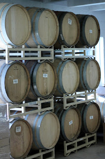 Barrels prior to filling.