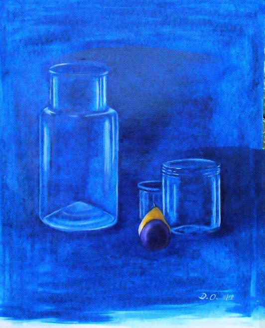 Nature morte (au bleu de Prusse) (2012)