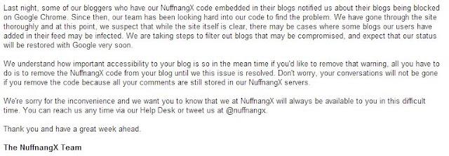 NuffnangX Berjaya Selesaikan Masalah Malware