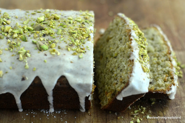 Pistachio Cardamom Pound Cake | The View from Great Island