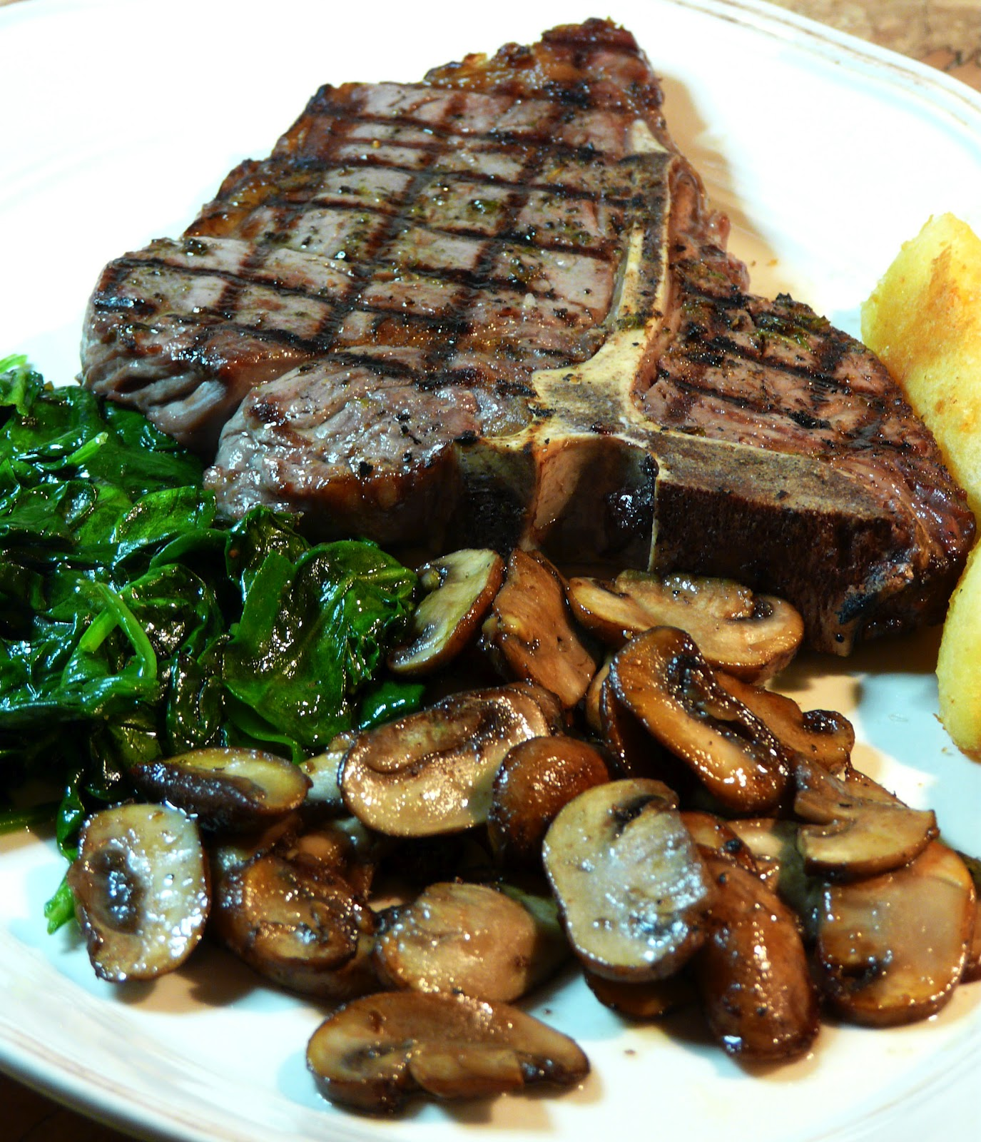 Thibeault's Table: Grilled T-Bone Steaks