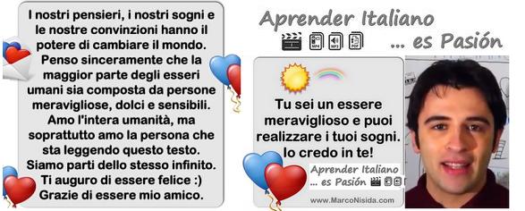 ¡APRENDE  ITALIANO CON MARCO NISIDA EN SOLO 6 MESES!