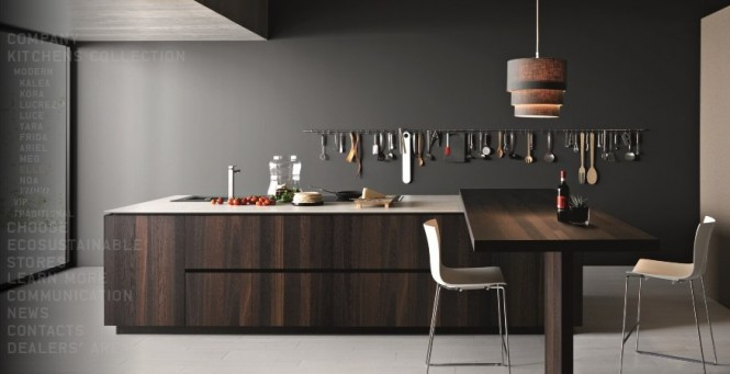 podemos soar y an as obtener la esencia de la forma en que podra encajar en un lugar ms modesto hogareo en casa cocinas modernas por cesar - Cocinas Modernas Italianas