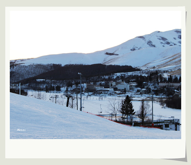 北陸合掌村 白樺湖池之平飯店 玩雪