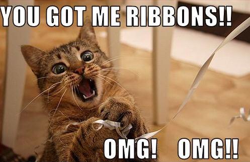 You Got Me Ribbons! - OMG OMG