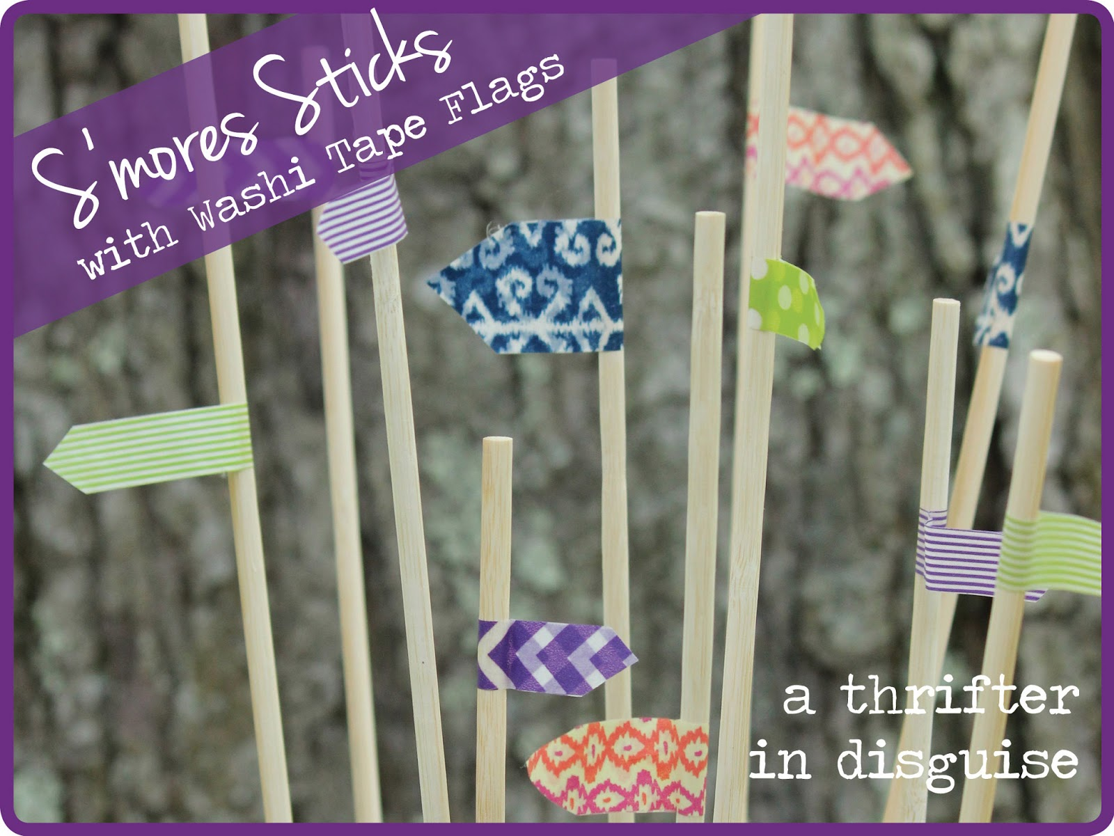 http://www.thrifterindisguise.com/2013/05/washi-tape-flag-smores-sticks.html