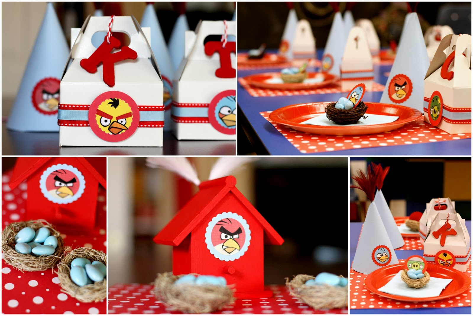 Cute food for kids march 2011 for Angry bird birthday decoration ideas