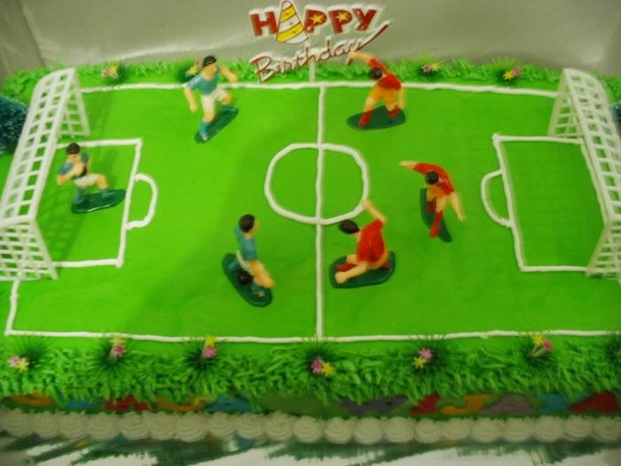 kue ulang tahun sepak bola 01 kue ulang tahun love