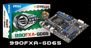 Motherboard MSI 990FXA-GD65 Support Socket AM3+