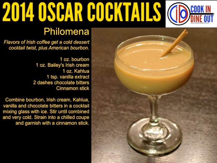 Oscar Cocktails Philomena