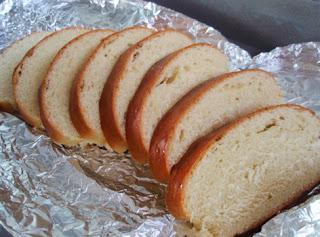 Rebanadas de pan de leche para tostadas