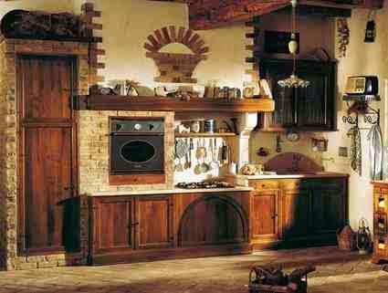 Klimat kuchni urządzonej w rustykalnym stylu