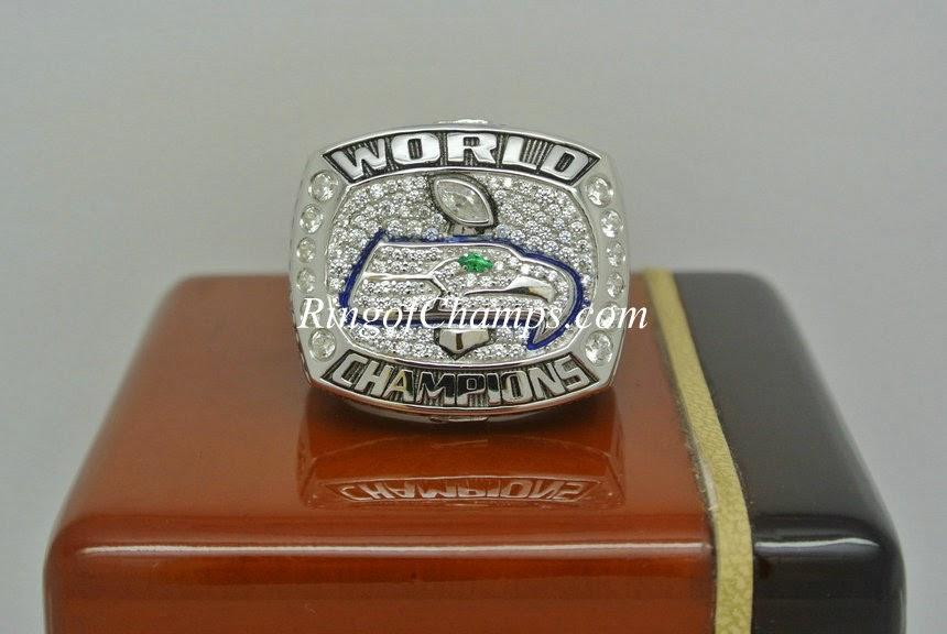 2013 Seattle Seahawks Surper Bowl ring