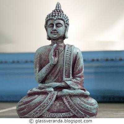 Oppussingsprosjekt Bad - Del 13: Nymalt Buddha
