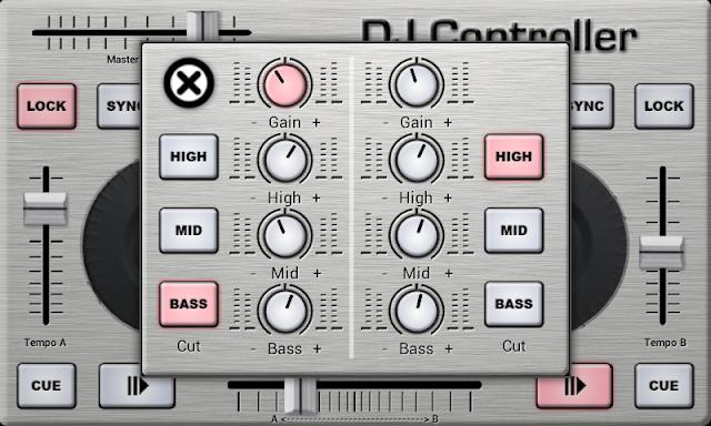 Free Downlaod DJ Controller Android app