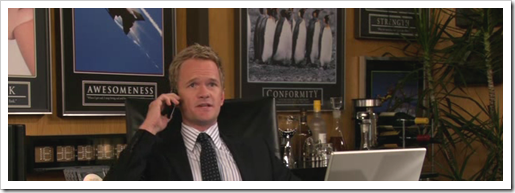 Barney Stinsons Job