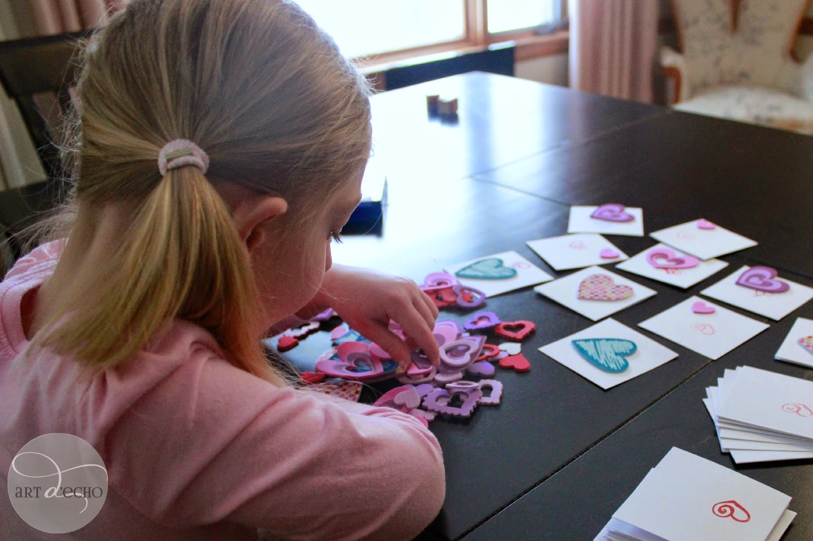 art projects with my kids: valentine's day cards