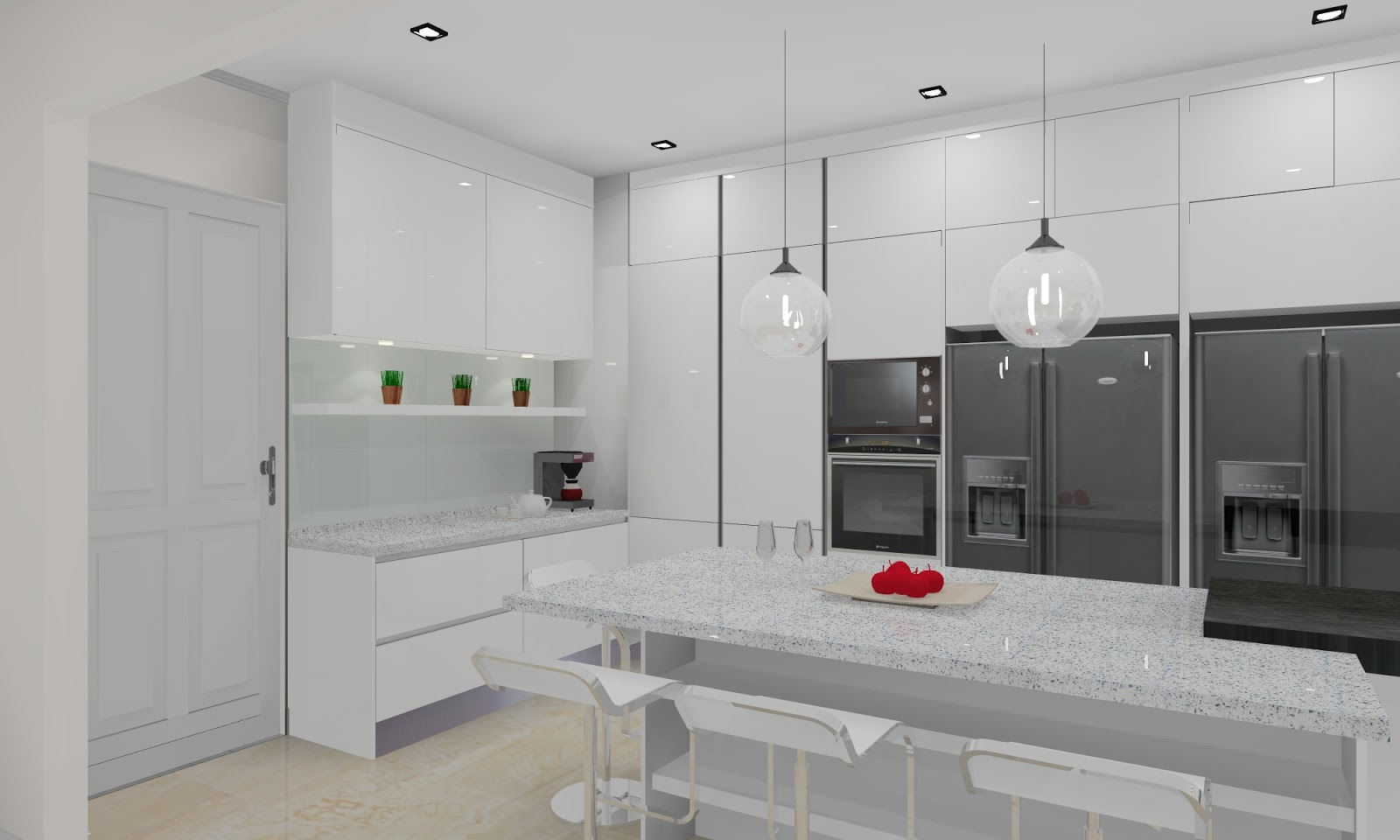 meridian interior design and kitchen design in kuala neptune kitchen full height cabinets limehouse 690 full