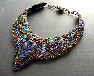 bead embroidery bracelets pendants beadwork blog