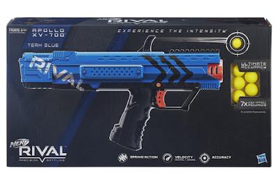TOYS : JUGUETES - NERF Rival  Apollo XV-700 : Team Blue | Pistola - Blaster  Producto Oficial 2015 | Hasbro B1619 | A partir de 14 años  Comprar en Amazon España