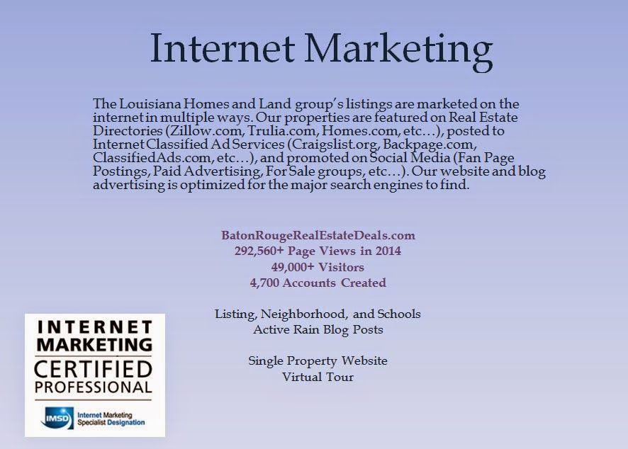 Louisiana Homes and Land Marketing Plan - Louisiana Homes And Land ...