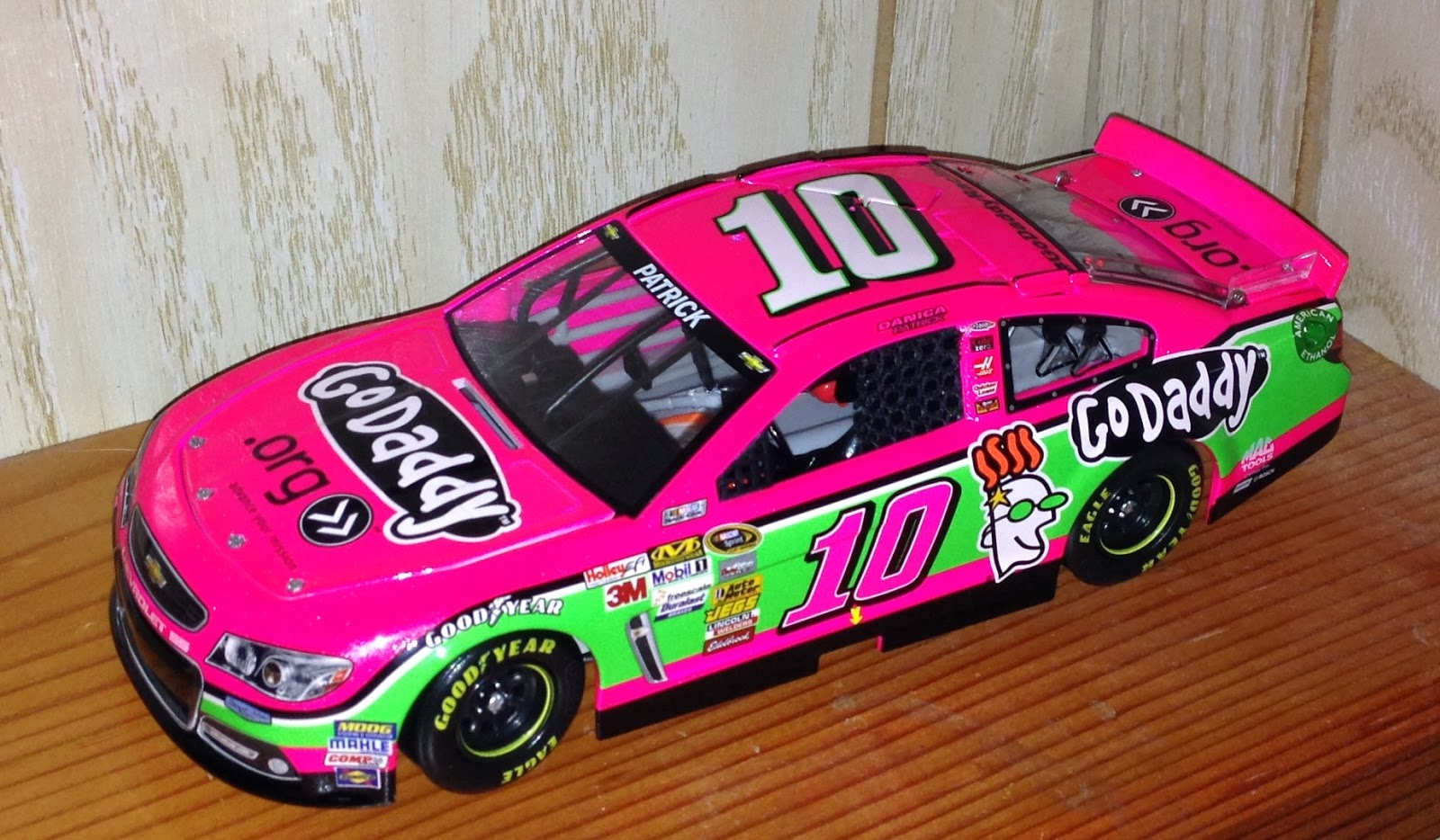 the raz card blog the die is cast 3 danica patrick 2013. Black Bedroom Furniture Sets. Home Design Ideas