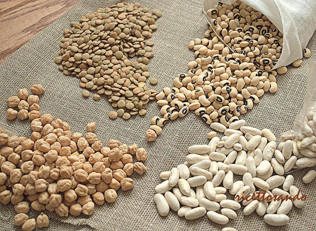 legumi ricchi di  proteine nobili e base per ottimi piatti