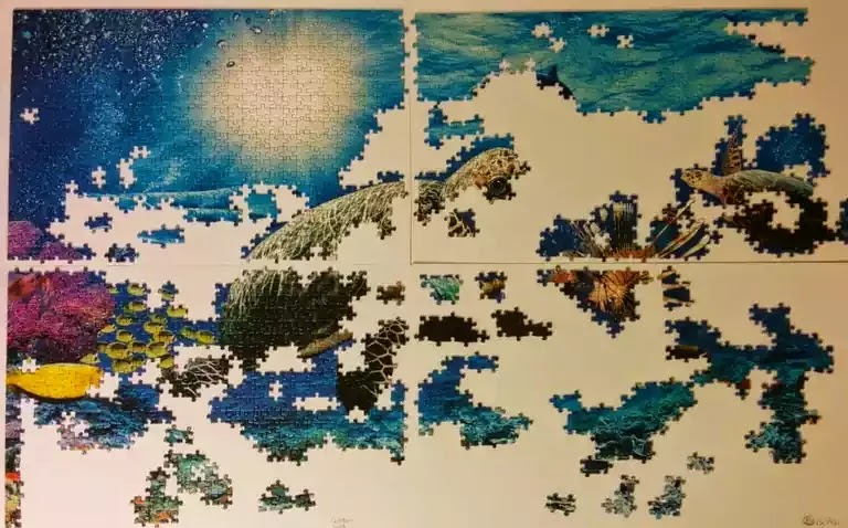 Ravensburger Under the Sea 5000 piece jigsaw puzzle