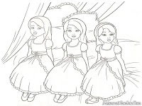 Mewarnai Barbie And The Diamond Castle
