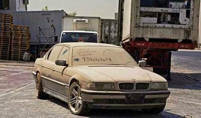 Kereta terbiar@Dubai