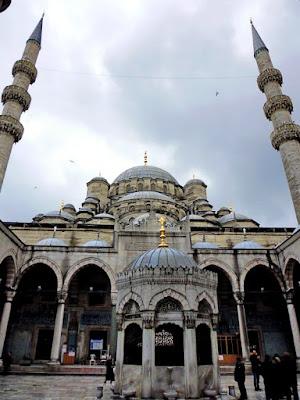 yenii camii mezquita nueva estambul