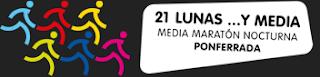 media maraton nocturna ponferrada 21 lunas y media www.mediamaratonleon.com