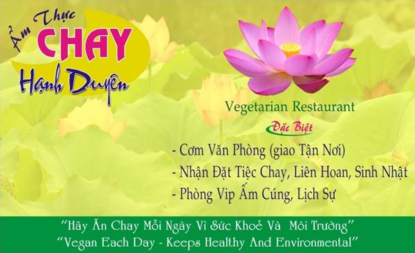 Nhà hàng Ẩm thực chay Hạnh Duyên -1000.com Giảm giá 30% nhân dịp Khai trương !!! HCMC Amthucchay3
