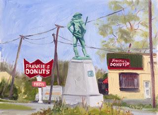NACC, Kathy Schifano, Niagara Falls painting
